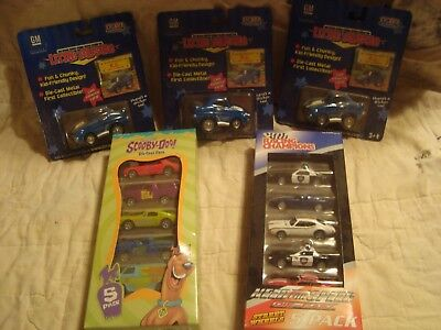 Scooby Doo/Racing Champions 5-Car Pack or Little Muscles K.C. Camaro/NIB