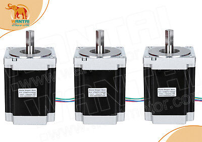 Wantai 3pcs Nema34 stepper motor 8.7N.m(1232oz-in) 5.6 a