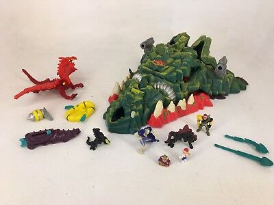 Vintage Bluebird - Mighty Max - 1993 - Storms Dragon Island - COMPLETE