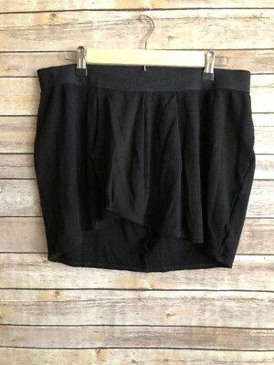 A Pea In The Pod Collection Black Short Mini Skirt Cotton Size M