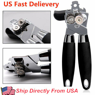 Multifunction Stainless Steel Can Opener Kitchen Tool Manual Bottle Beer Opener