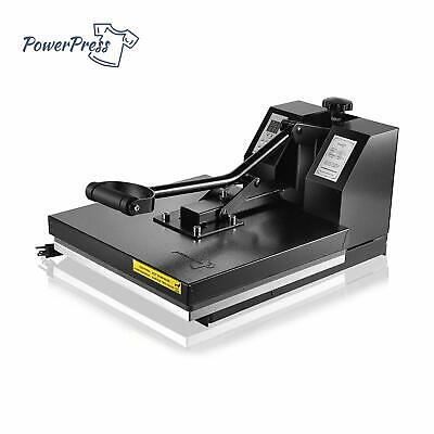 "PowerPress 15""x15"" Industria Digital Sublimation T-Shirt Heat Press Machine"