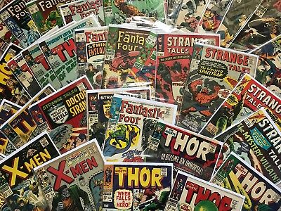 Fantastic Grab Bag lot, Fantastic Four, Dr. Doom, Black Panther 1 5 45 48 52