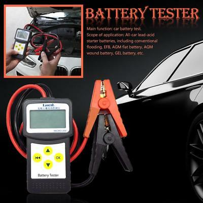 12V Digital Automotive Car Battery Tester Analyzer MΩ Cranking Alternator Tester