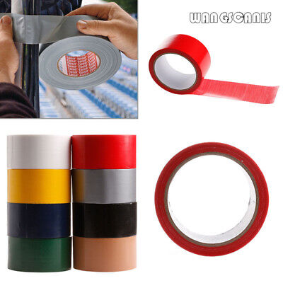 48mm x 10m Duck Duct Gaffa Gaffer Waterproof Adhesive Repair Cloth Tape 9 Colour