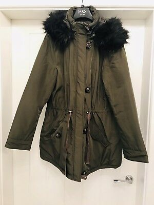 dorothy perkins 14 Maternity Parka Padded Coat