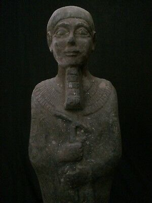 ANCIENT EGYPTIAN ANTIQUITIES EGYPT Statue Ushabti God Ptah Limestone 300-1500 BC