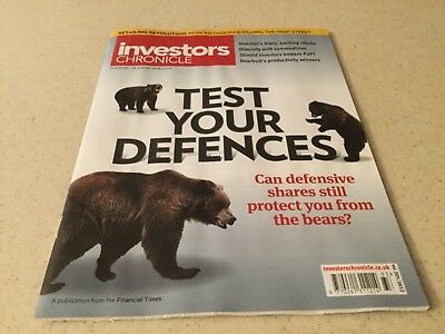Investors Chronicle, 17 August - 23 August 2018 TEST YOUR DEFENCE