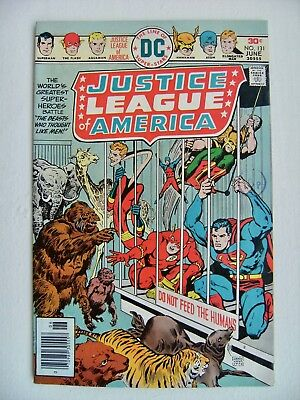 JUSTICE LEAGUE OF AMERICA Vol.1 no.131 DC COMICS Bronze Age Fine