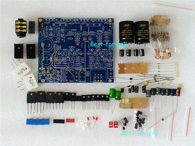 CLASS A FET HIFI Headphone Amplifier Diy Kit Reference AT-HA5000 for K701  HD650