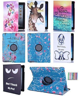 """Rotating Leather Case Flip Stand Cover For Samsung Galaxy Tab A6 10.1"""" (2016)"""