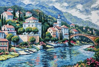 "DIMENSIONS GOLD COLLECTIONS""ITALIAN VISTA""CROSS STITCH KIT Kreuzstich STICKPACKU"