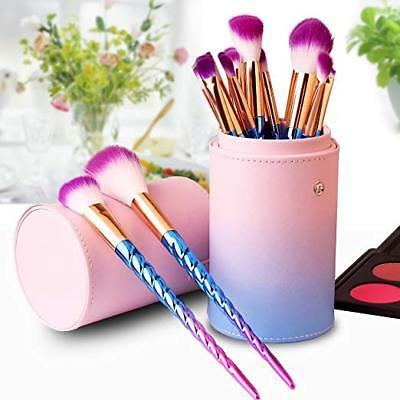 Professional Makeup Brushes Set with Case Unicorn Make up Brush kit for Cosmetic