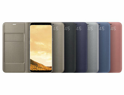 NEW◆GENUINE Original Samsung Galaxy S8 LED View Cover from Japan ◆