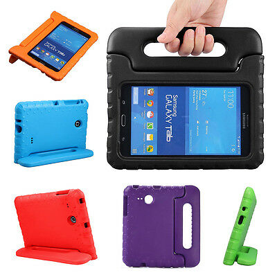 Kids Handle Light EVA Shockproof Stand Case Cover For Samsung Galaxy Tab 4 A 7.0