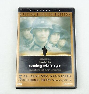 Saving Private Ryan DVD, 1999, Special Limited Edition  Tom Hanks  Fast Ship