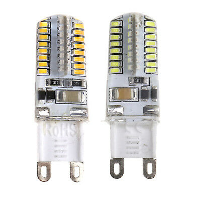 5/10X Warm/Cool White Light Bulbs G9 LED 3014 SMD Lighting Silicone Home Garden