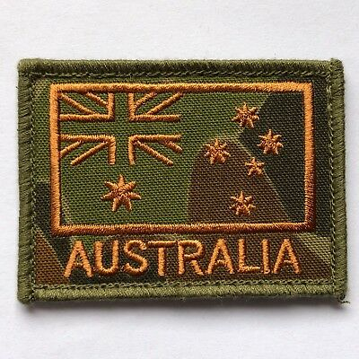 Australian National Flag ANF ADF Army Military Auscam DPCU Velcro Field Patch