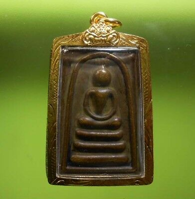 Gorgeous Somdej Lp Phare Old Thai Buddha Amulet Very Rare !!!