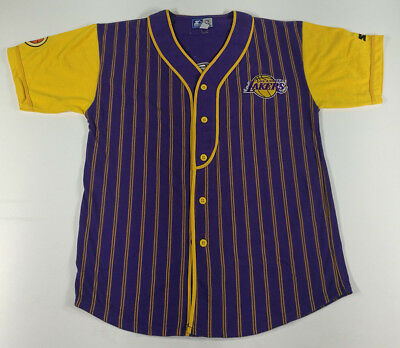 Maglia Baseball LOS ANGELES LAKERS Baseball Shirt Maillot Trikot Camiseta