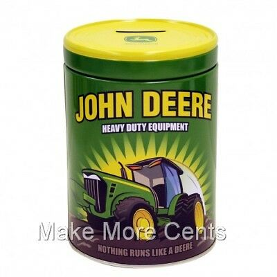 John Deere Heavy Equipment Collectible Bank -  New - FREE SHIPPING