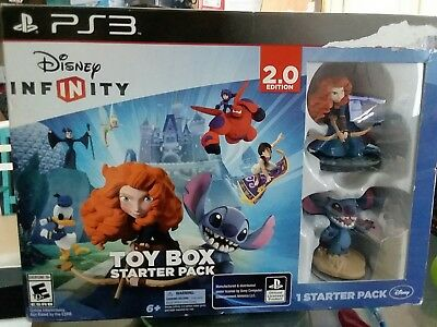 Disney INFINITY: Toy Box Starter Pack (2.0 Edition) - SONY PlayStation 3 - NEW