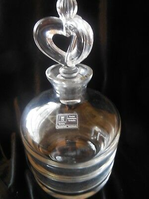 Spiegelau Crystal Whiskey / Spirits Decanter with Crown Stopper