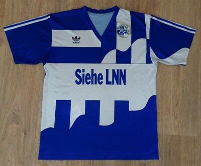 Luzern Switzerland 1990 - 1991 rare vintage adidas home shirt size XL