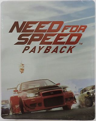 Need for Speed Payback SteelBook Case only (No Game)