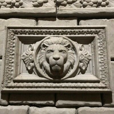 Lion Relief Mold 2pc