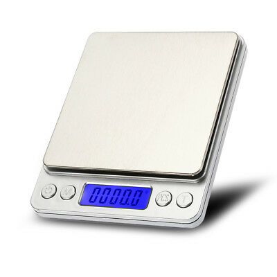 Mini 0.01g-500g Digital Pocket Scale Jewelry Gold Herb Gram Weight Measure Tool