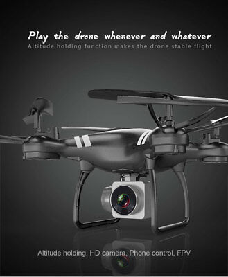 KY101 640P HD Camera Drone Wifi FPV 2.4GHz 4Axle RC Quadcopter Altitude Hold New