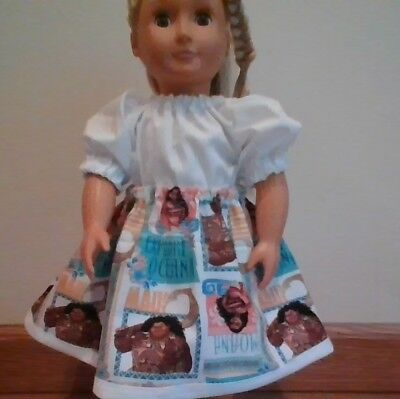 New Generation Doll Clothes Moana Skirt Peasant Blouse