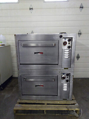 Toastmaster Commercial Double Electric Pizza Oven
