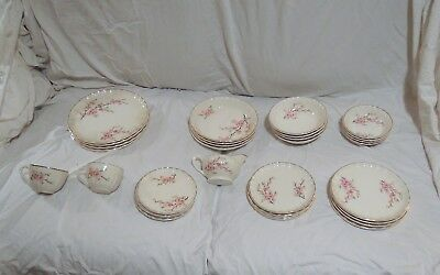 China, vintage service for 4 WS George Bolero pattern