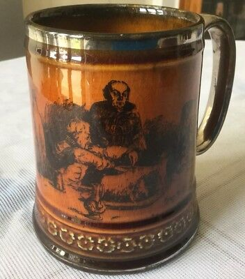 "Vintage Ridgways Pint Size ""Coaching Days And Coaching Ways"" Tankard"