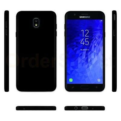 Ultra Slim Protector Plastic Phone Case BLACK for Samsung Galaxy J7 Star c918a5b26e2