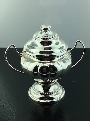 Vintage coin silver mini urn collectible