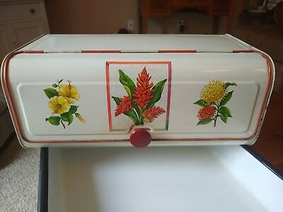 Vintage Bread Box Maid Of Honor Metal - Rare!!!