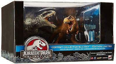 Coffret Blu Ray : Jurassic Park Collection Dinosaures Ed Française - RARE - NEUF