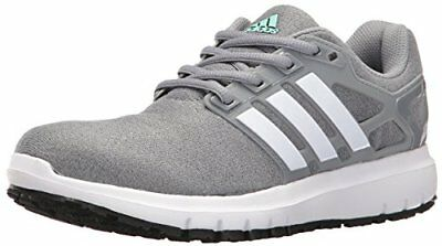 ADIDAS ENERGY CLOUD WTC Womens RUNNING CASUAL Shoes SIZE 9.5 NEW GRAY WHITE
