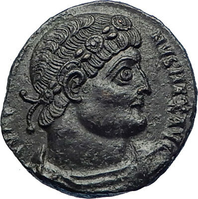 CONSTANTINE I the GREAT 335AD Ancient Roman Coin Glory of Army Legions i73675