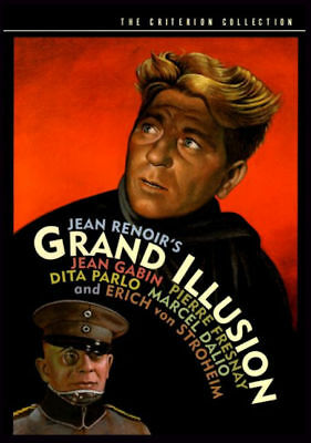 GRAND ILLUSION - 1937 - Criterion's ORIGINAL SPINE No.1 - With Program Leaflet