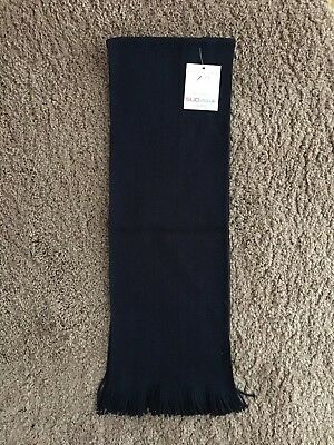 School Uniform Direct Navy BNWT Knitted Scarf One Size