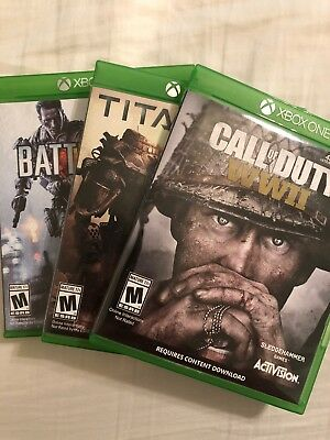 Xbox One Game Lot! Call Of Duty, Battlefield, and Titanfall! Excellent Condition