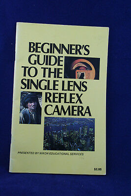 Beginners Guide to SLR Camera booklet