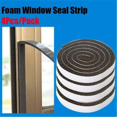 Soundproof Foam Draught Excluder Weather Seal Strip Insulation For Window Doors