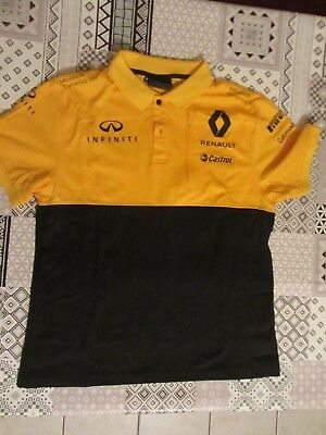 """POLO """"Renault rs"""" taille M"""
