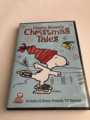 Charlie Browns Christmas Tales DVD NEW