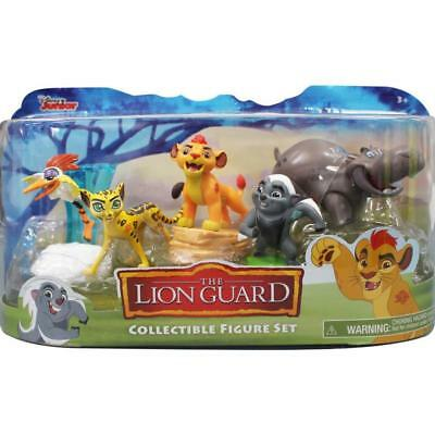 Disney Junior The Lion Guard Collectible 5 Figure Set (Cake Toppers)